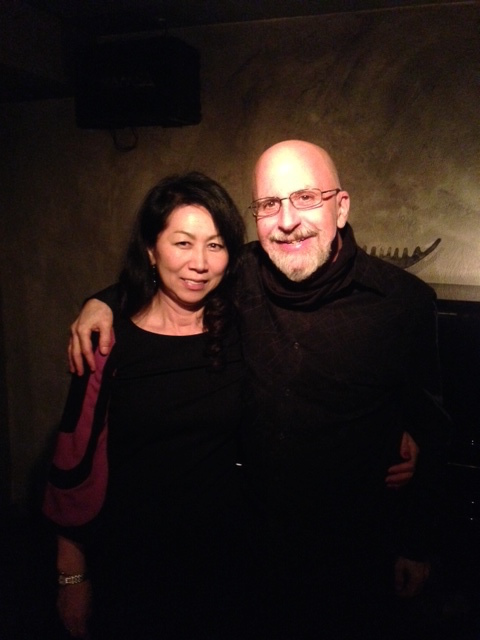 SETSUKO DUO WITH MARK IN NYC.